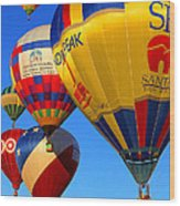 Albuquerque Balloon Festival Wood Print
