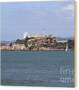Alcatraz Island In San Francisco California . South Side . 7d14288 Wood Print