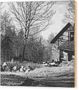Aldergrove Farmhouse Wood Print