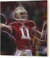 Alex Smith - 49ers Quarterback Wood Print