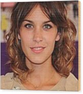 Alexa Chung In Attendance For The 2010 Wood Print by Everett