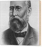 Alexander Butlerov, Russian Chemist Wood Print