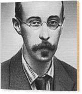Alexander Friedman, Soviet Cosmologist Wood Print