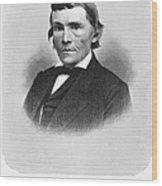 Alexander H. Stephens Wood Print