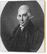 Alexander Monro II, Scottish Anatomist Wood Print
