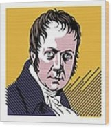 Alexander Von Humboldt, German Naturalist Wood Print