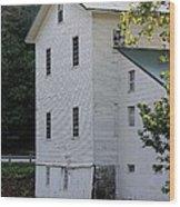 Alexanders Mill Wood Print by Jenny Hudson