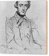 Alexis De Tocqueville 1805-1859 French Wood Print