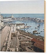 Algiers - Algeria - Harbor And Admiralty Wood Print