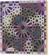 Alhambra Pattern Wood Print