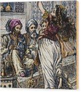 Ali Baba And 40 Thieves Wood Print