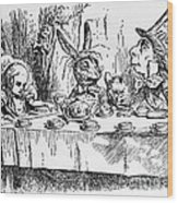 Alice In Wonderland Wood Print
