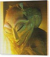 Alien Wood Print