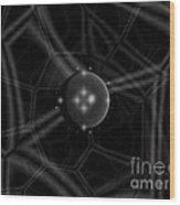 Alien Hive Wood Print
