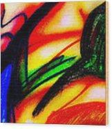 Alien Suntan II Wood Print