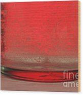 Alka-seltzer Dissolving In Water Wood Print by Photo Researchers, Inc.