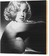 All About Eve, Marilyn Monroe, 1950 Wood Print by Everett