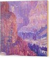 All Canyon Wood Print