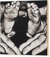 All Fingers And Toes  Wood Print