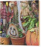All Hallows Eve Wood Print