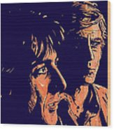 All The President's Men Wood Print by Giuseppe Cristiano