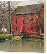 Alley Mill 4 Wood Print