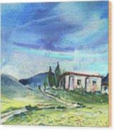 Almeria Region In Spain 02 Wood Print