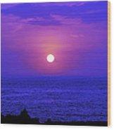 Aloha Iv Wood Print