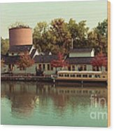 Along The Erie Canal Wood Print