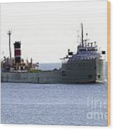 Alpena Ship Wood Print