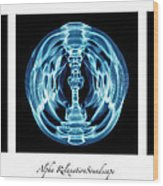 Alpha Soundscape Wood Print