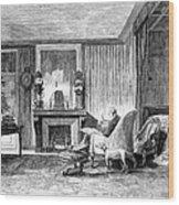 Alphonse De Lamartine Wood Print