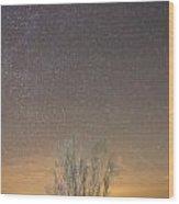 Alqueva Dark Sky Reserve Wood Print