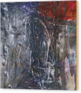 Altered Second Movements Wood Print by Linda Sannuti