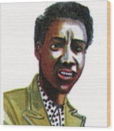 Althea Gibson Wood Print