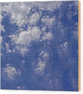 Alto Cumulus With Ice Wood Print