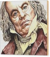 Alun Armstrong Plays Jeremiah Flintwich Wood Print