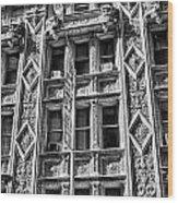 Alwyn Court Building Detail 15 Wood Print