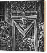 Alwyn Court Building Detail 16 Wood Print