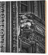 Alwyn Court Building Detail 22 Wood Print
