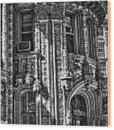 Alwyn Court Building Detail 27 Wood Print