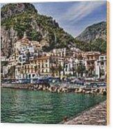 Amalfi Wood Print
