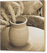 Amazing Hands V Wood Print by Emanuel Tanjala