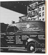 Ambulance, Late 1930s, Nyc Wood Print