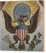 America - Great Seal Wood Print