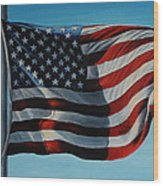 America The Beautiful Wood Print