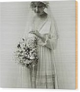 American Bride, C1925 Wood Print