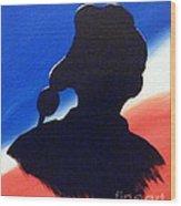 American Flyboy Wood Print