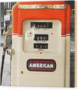 American Gas Wood Print