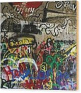 American Graffiti 17- Jake From State Farm Wood Print